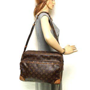 Auth Louis Vuitton Nile Gm Messenger #5835L18